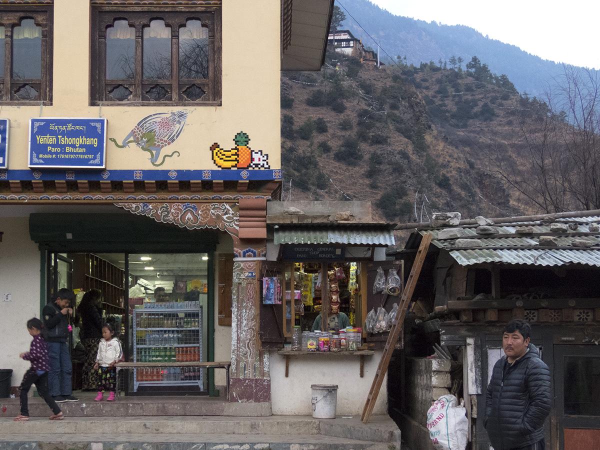 Streets: Invader (Bhutan)