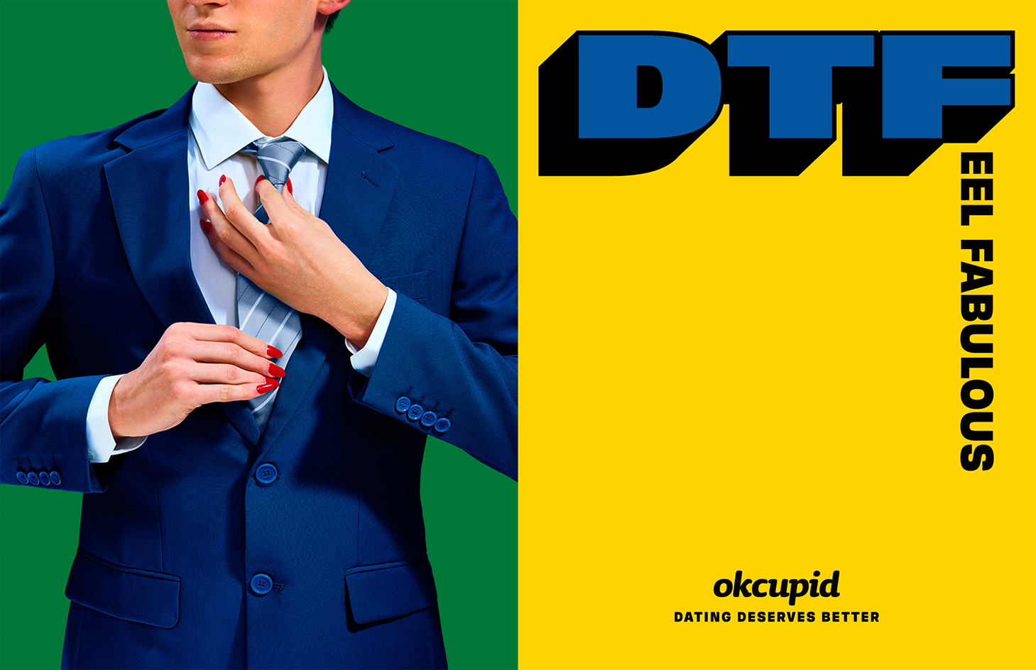Cheeky OkCupid Ad Campaign by Maurizio Cattelan and Pierpaolo Ferrari