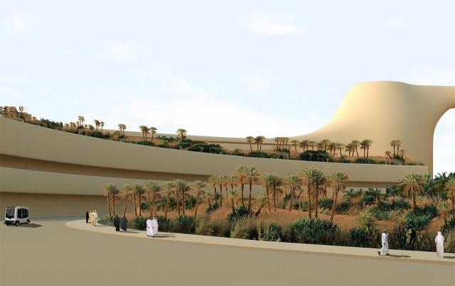Futuristic Desert City