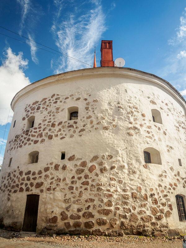 Круглая башня, 1547—1550 гг.