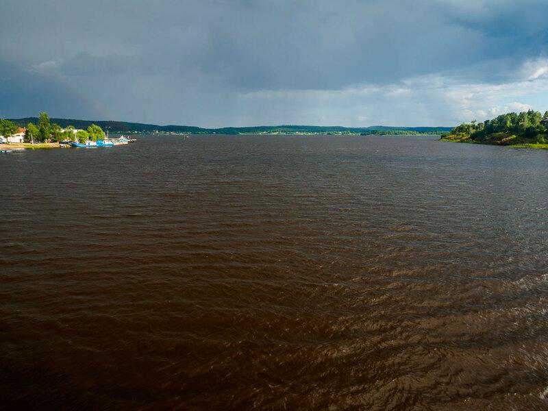 Залив Вакколахти озера Ляппяярви Сортавальской губы Ладожского озера.