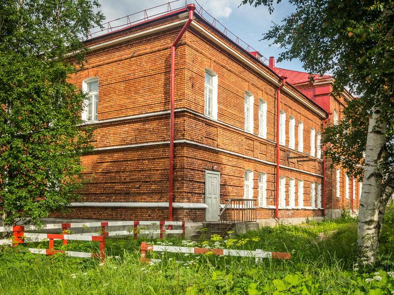 Дом по улице Урицкого.