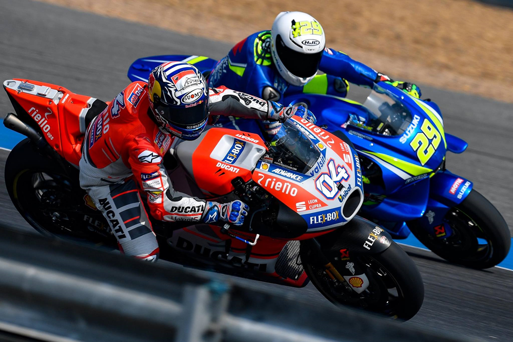 Результаты 1-го дня тестов MotoGP в Таиланде