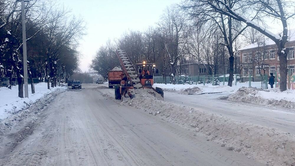 """""""Чистый город"""" на уборке снега"""