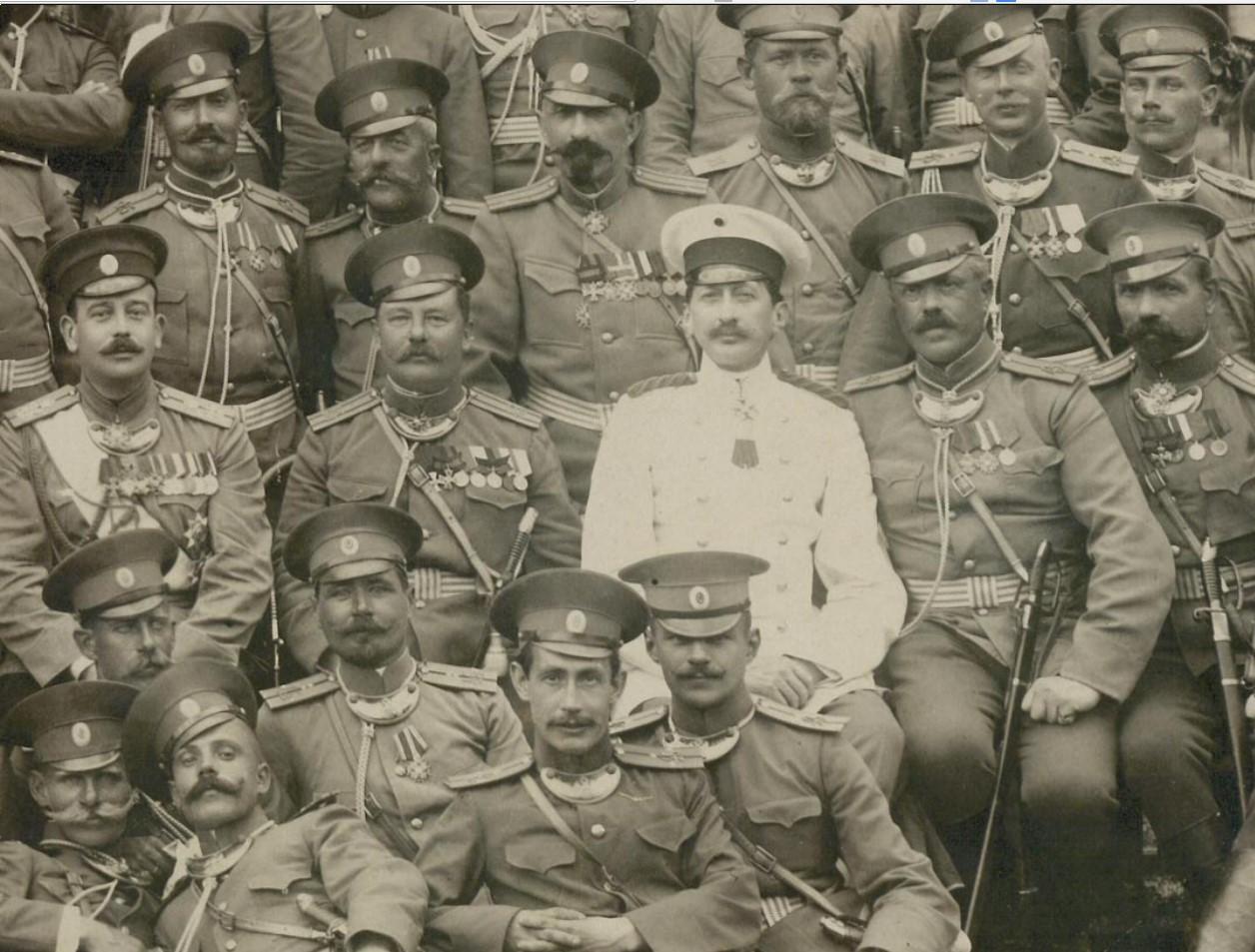 1910. 45-й пех. Азовский ЕИ Высочества ВК Бориса Владимировича полк