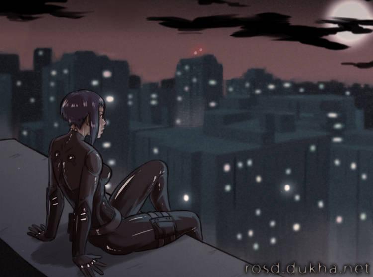 Под языком змеи - Виолетта на крыше