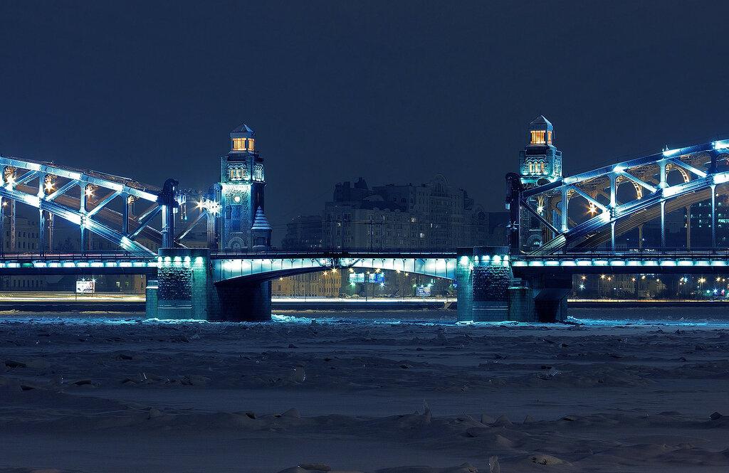 Большеохтинский мост (Bolsheokhtinsky Bridge)