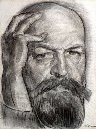 Тархов, Николай Александрович  [1921]Автопортрет.