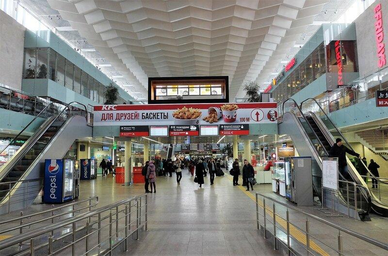 Музейная выставка на Ленинградском вокзале