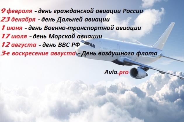 Праздники авиаторов