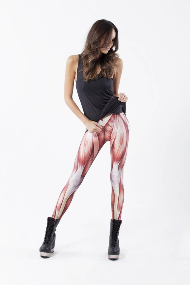 Muscles Leggings – Show off the hidden side of your anatomy (4 pics)