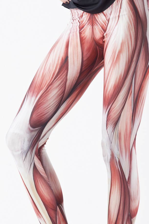 Muscles Leggings – Show off the hidden side of your anatomy