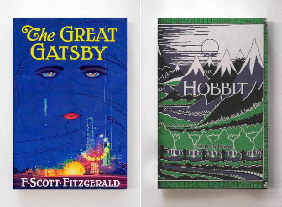 Delicate Animated Book Covers (8 pics)