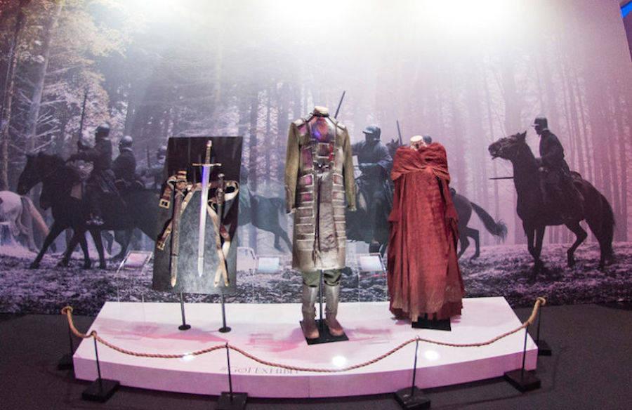 Game of Thrones Exhibition in Paris