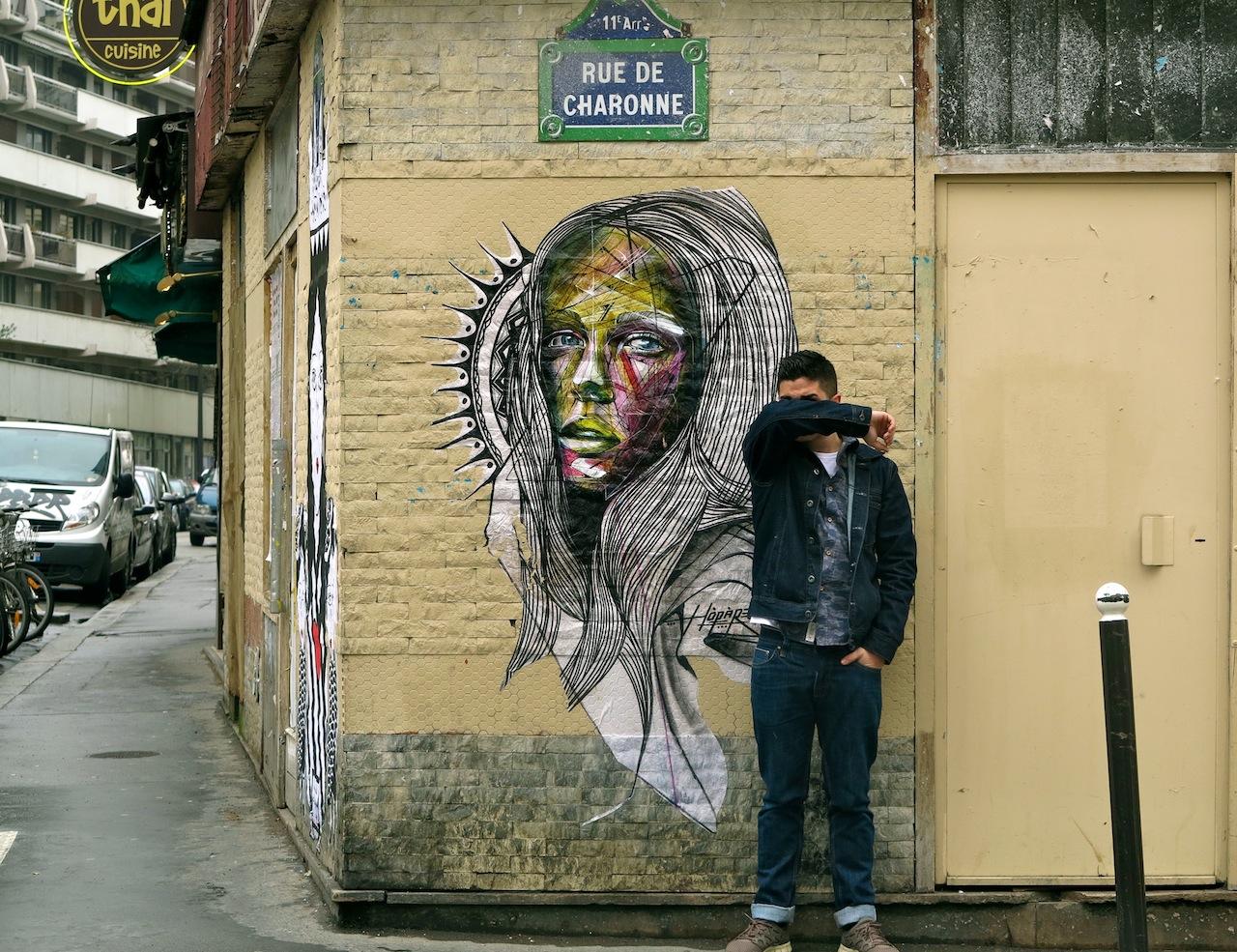 Street Artist - Alexandre Monteiro aka Hopare