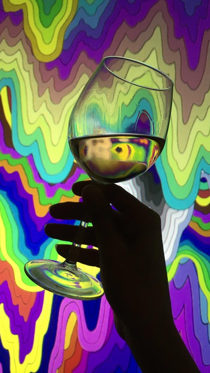 Releases: Jen Stark x Las Jaras Wines (3 pics)