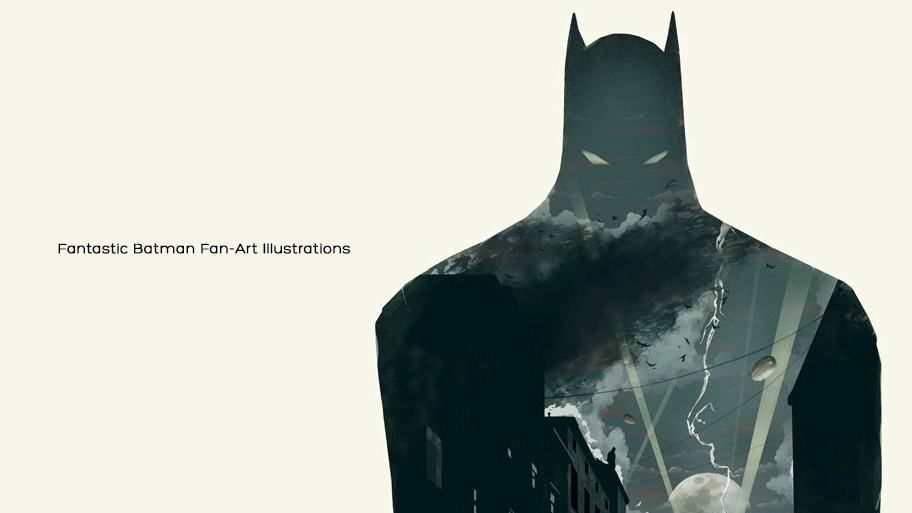 Fantastic Batman Fan-Art Illustrations