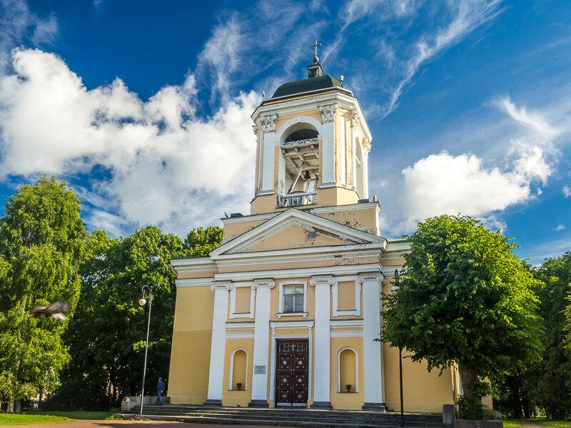 Церковь Святых Петра и Павла — лютеранский храм.