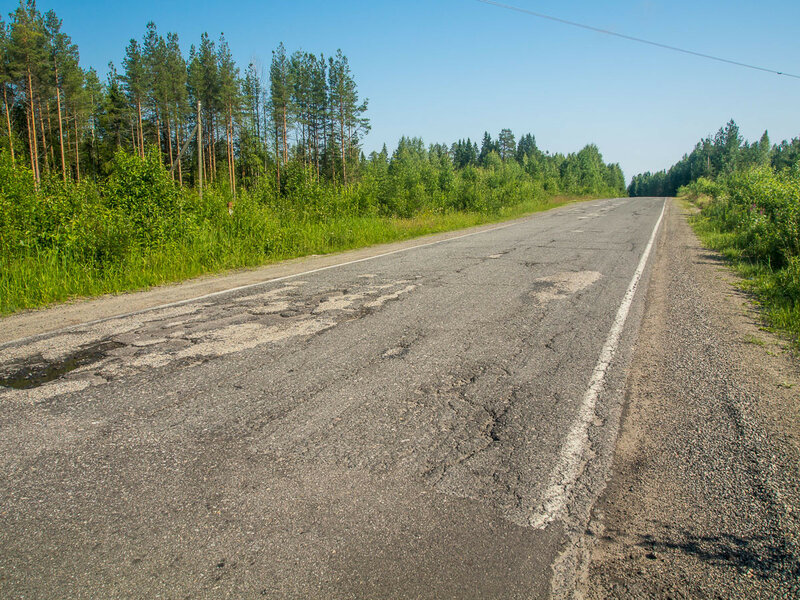 """и мы прощаемся с """"Колой"""". Впереди — Беломорск."""
