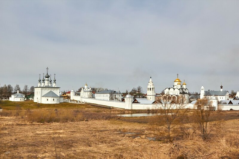 The Golden Ring of Russia - Suzdal - Pokrovsky Monastery