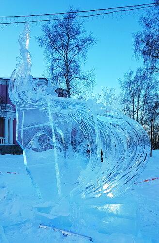 Зачарованный лед... Карелия. Петрозаводск