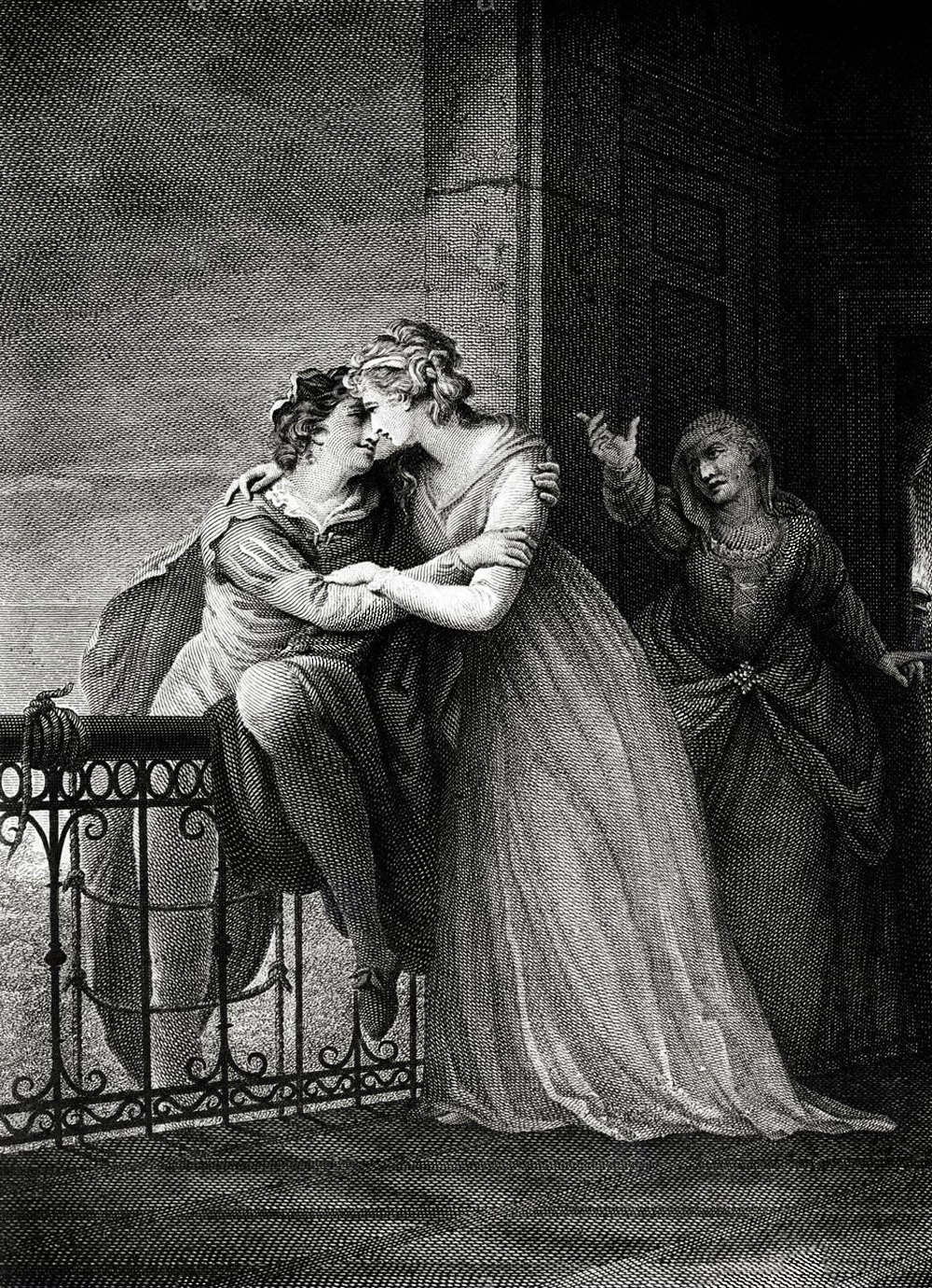 the control of two teenagers by a chain of human actions in shakespeares romeo and juliet Romeo and juliet key scene essay, shakespeares play about the doomed romance of two teenagers from feuding families is the most famous love story ever written.