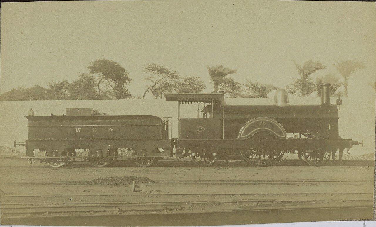 1889. Локомотив компании «Kitson and Company» из Лидса