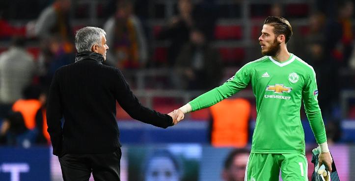David de Gea reveals how Jose Mourinho inspired Man Utd comebacks