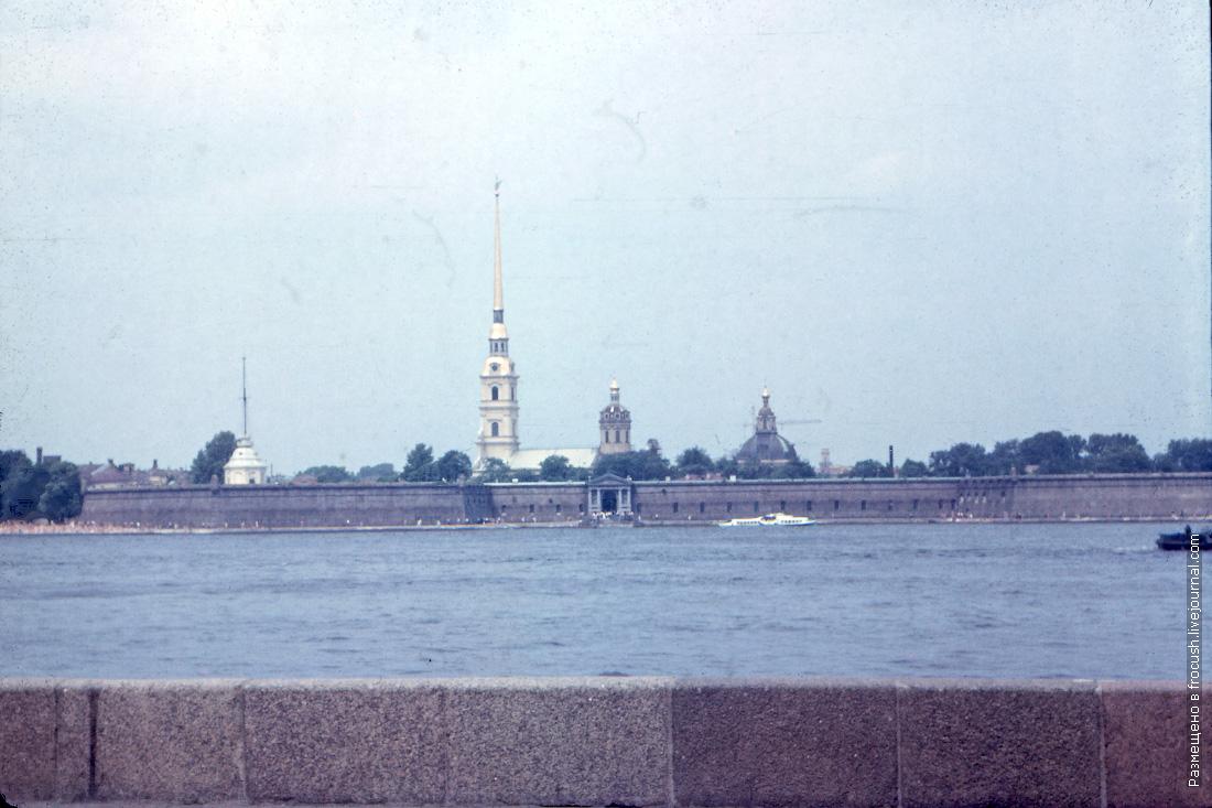 Петропавловская крепость 1985 год Ленинград