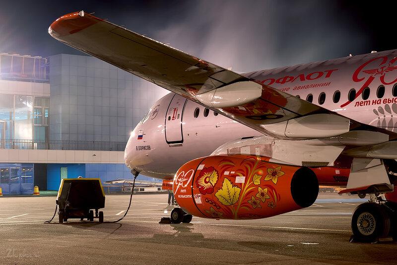 Sukhoi Superjet 100-95 (RA-89009) Аэрофлот D707198