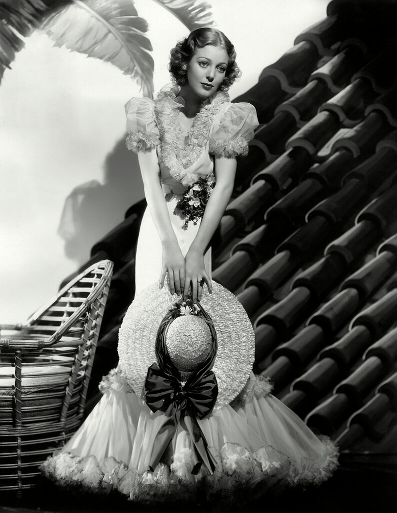 1934: American actress Loretta Young (1913 - 2000) as she appears in the Fox musical 'Caravan', directed by Erik Charell.