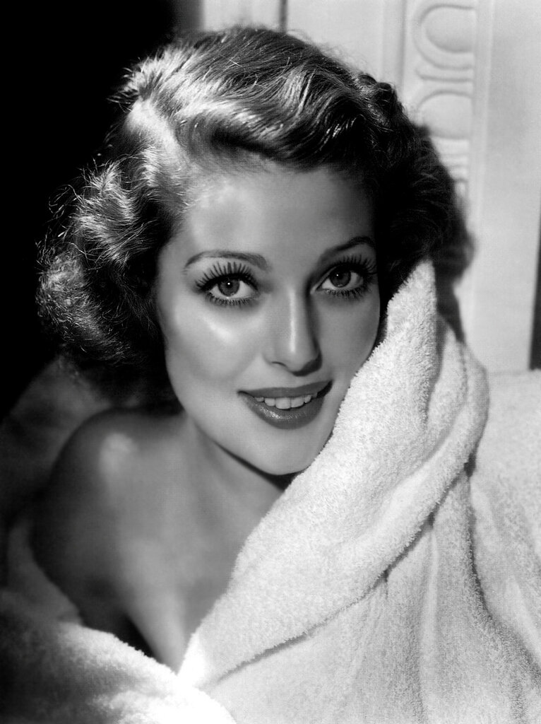 Loretta Young - by George Hurrell 1936 - Love Is News