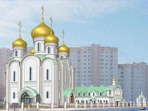 В новой Москве собираются построить сто пятьдесят православных храмов