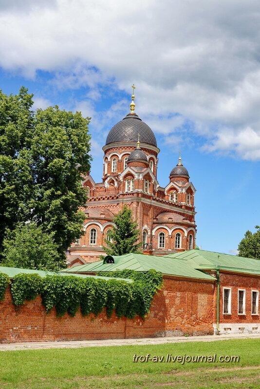 Спасо-Бородинский женский монастырь, Спасо-Бородинский женский монастырь, Собор Владимирской иконы Божьей Матери