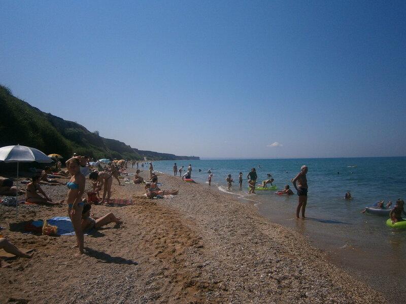 Кача. Пляж