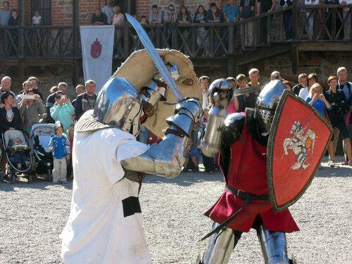 Средневековые сражения в Тракайском замке