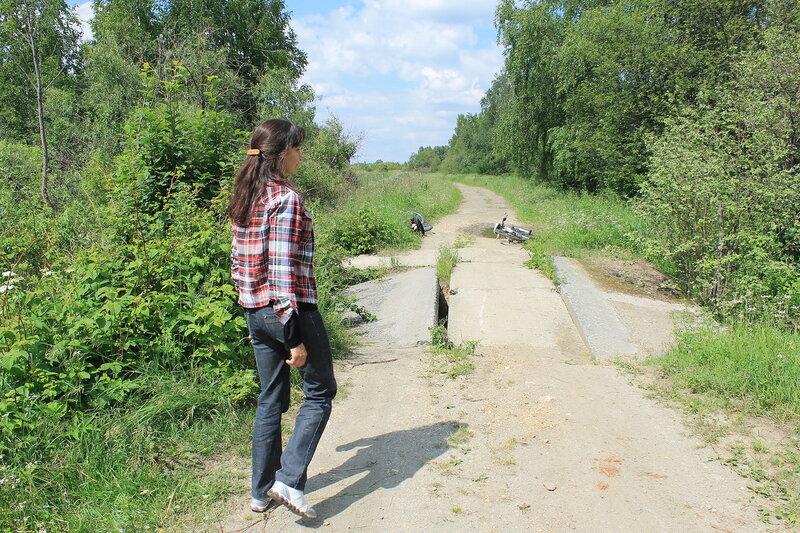 Поездка в Рудянку.