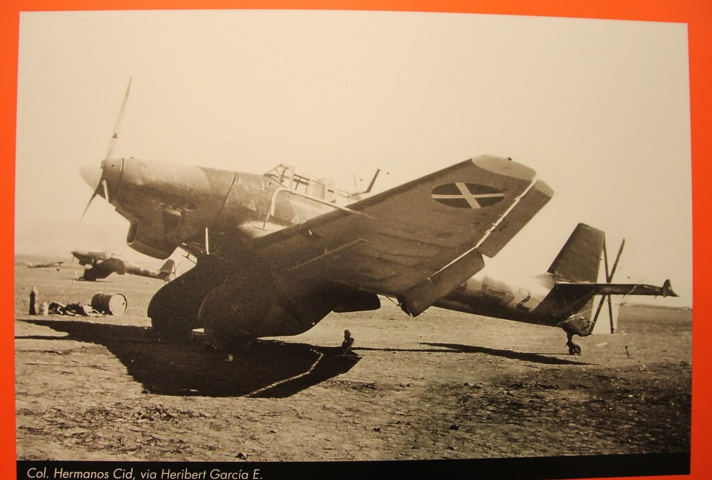 Legion Condor. Photo chronicle of combat use Ju-87 with bombs SC500