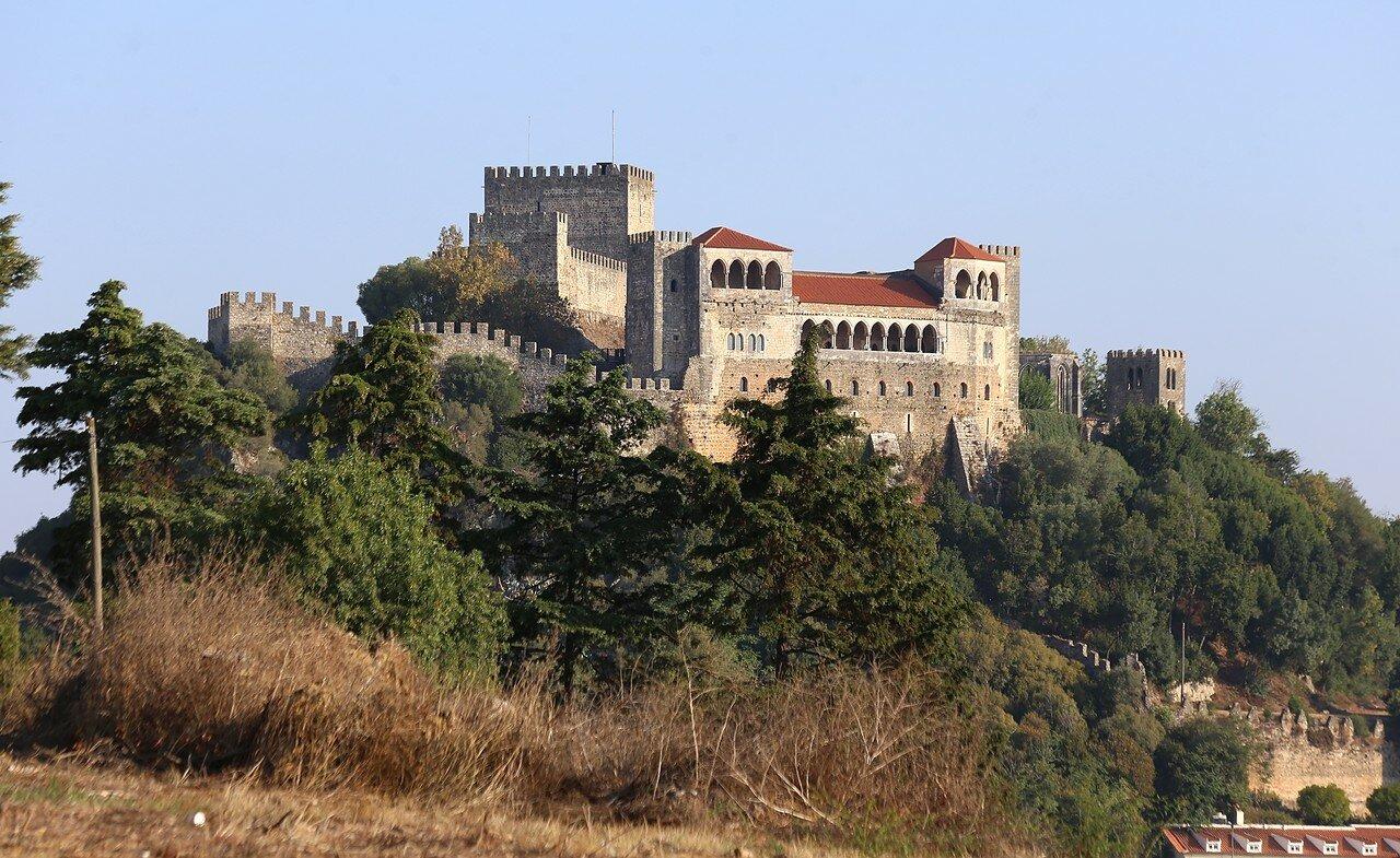 The Castle Of Leiria. View from Villa Portela