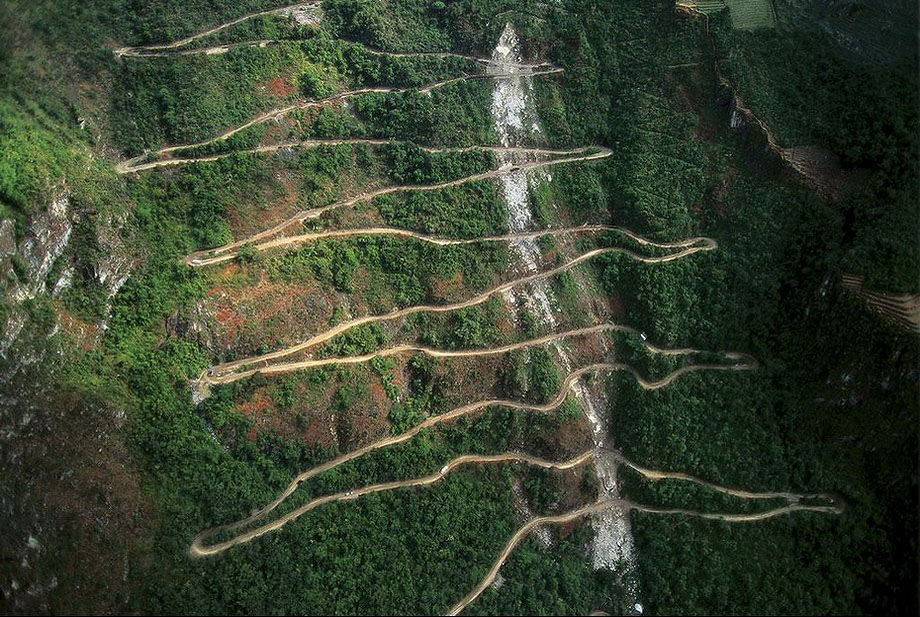 10. Дорога Хайрама Бингема, ведущая к Мачу-Пикчу.