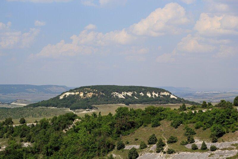 Вид с Северного дозорного комплекса Эски-Кермен