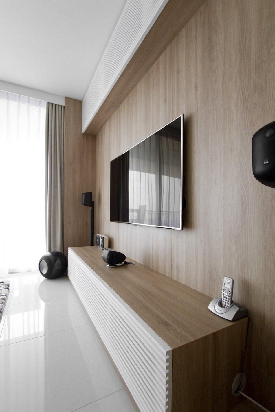 Лаконичный интерьер квартиры в Сингапуре