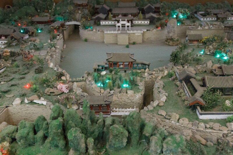 Макет парка Дагуаньюань