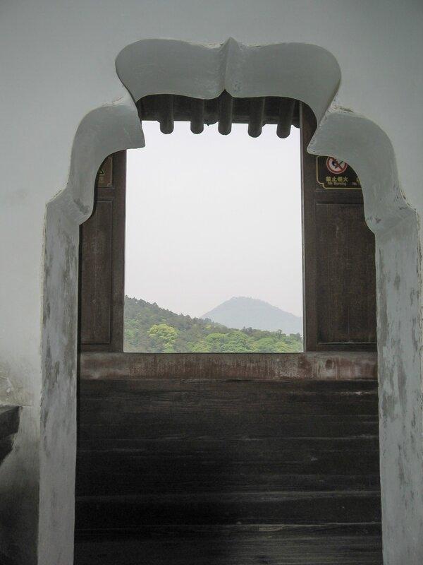 Вид из окна, Пагода Шести гармоний, Люхэта, Ханчжоу