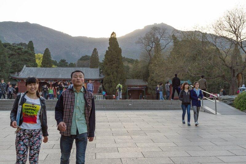 Восточный вход, парк Сяншань, Пекин