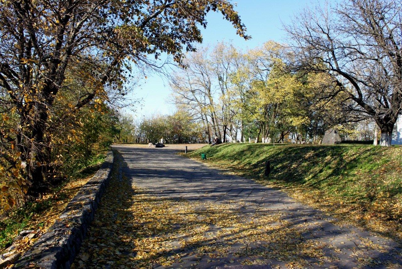 Пейзажная аллея до реконструкции