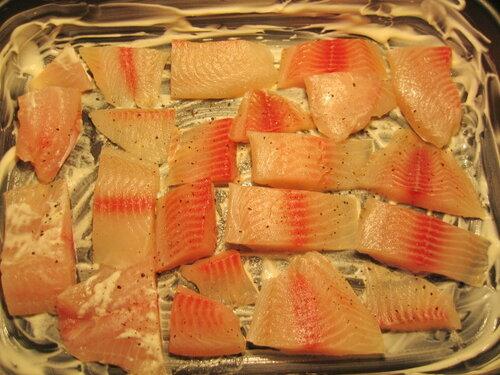 Рецепт рыба с овощами и сыром в духовке