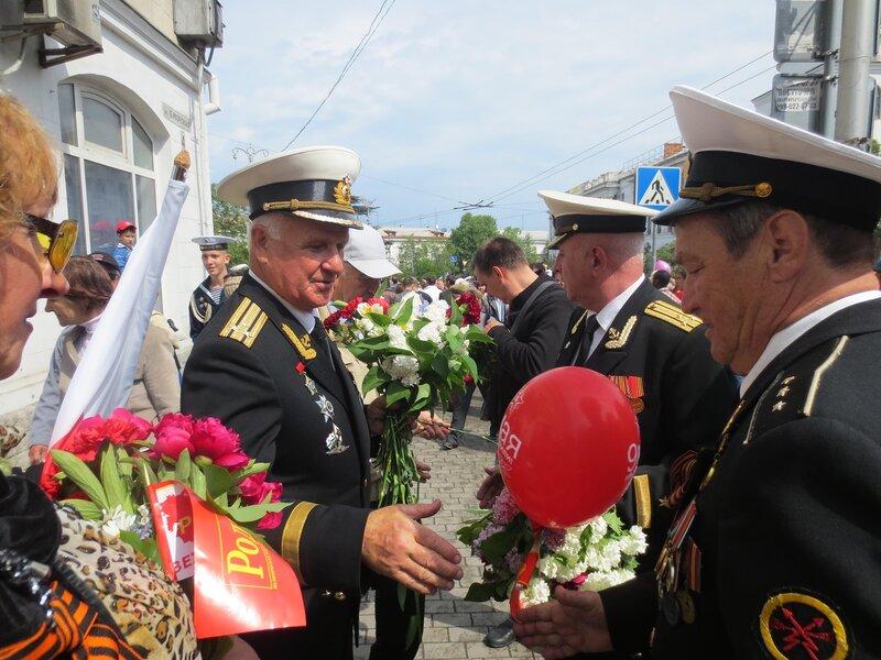 Парад Победы в Севастополе 9 мая 2014 г.