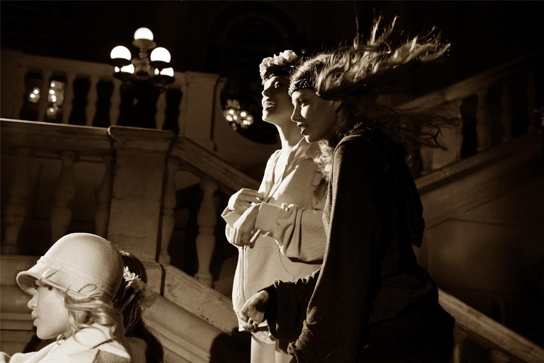 Великий Гэтсби / Kristine Froseth, Cora Keegan, Georgina Stojiljkovic, Lais Navarro - Wildfox fall 2013 - Daisy's Girls by Mark Hunter and Stephen Meirs
