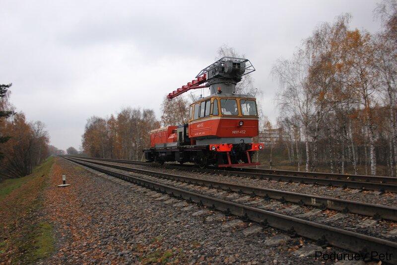 Дрезина МПТ-452